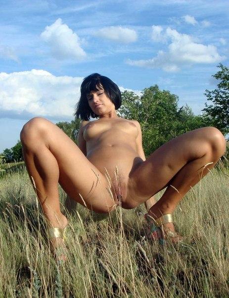 Частные фото большегрудых дамочек в носках
